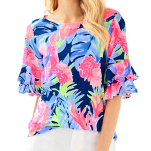 db9441e9eb66dc Lilly Pulitzer Tops - Lilly Pulitzer Lula Top